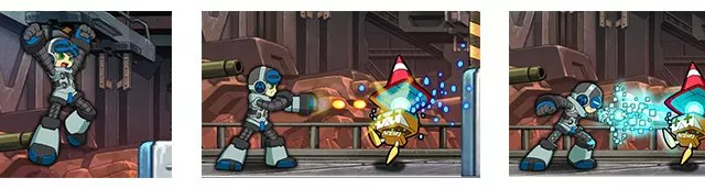 Mighty No. 9 stage