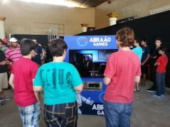 Festa de lançamento de BF4 na Abraão Games