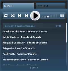 Player do Steam Music