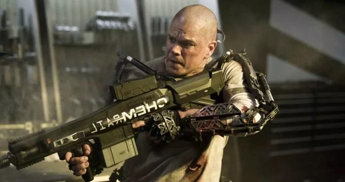 Matt Damon em Call of... Elysium