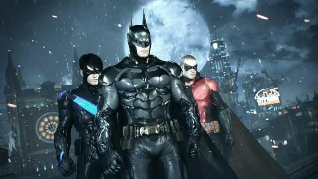 Asa Noturna, Batman e Robin