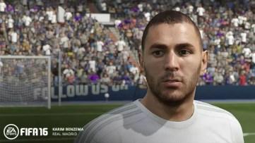 FIFA 16 Benzema