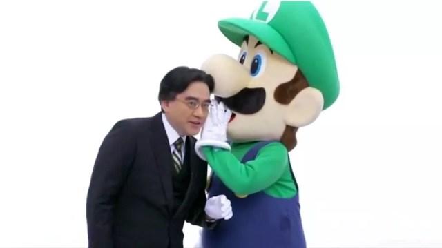 Iwata e Luigi