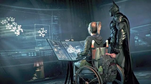 Oráculo (antes Batgirl), ajuda Batman em suas missões