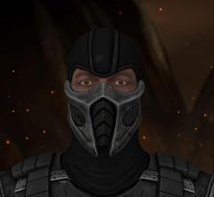 Saibot com máscara