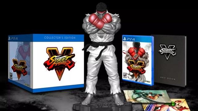 Estatueta de Ryu mede aproximadamente 25cm