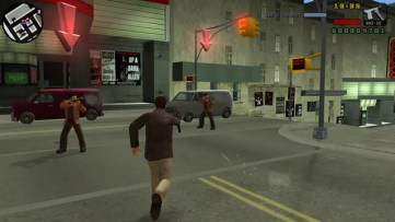 Grand Theft Auto Liberty City Stories tiroteio