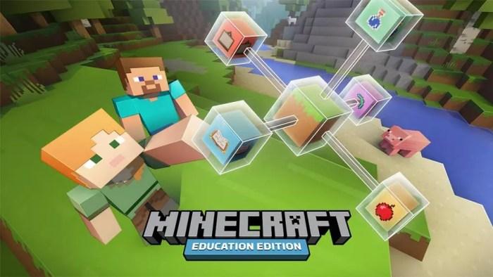 minecraft education edition foi anunciado