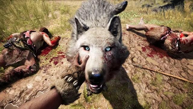 Nada como domar um lobo em Far Cry Primal
