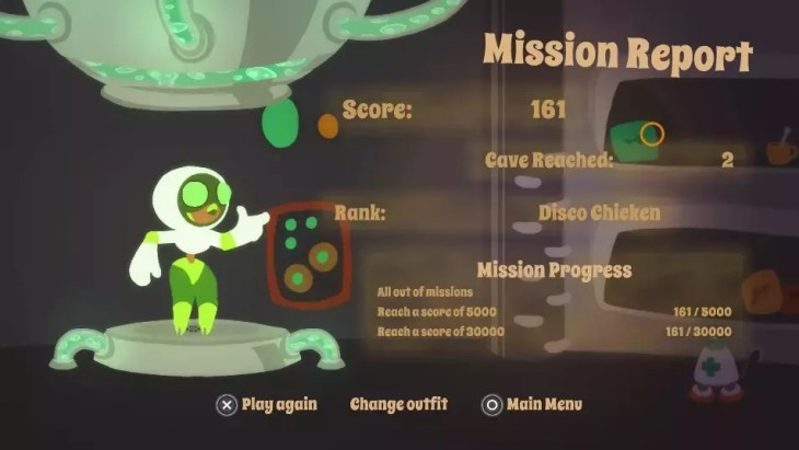 mission report de Laser Disco Defenders