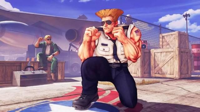 Guile é confirmado em Street Fighter 5