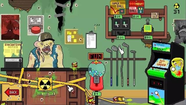 Nuclear Golf anunciado para PS4 e PS Vita
