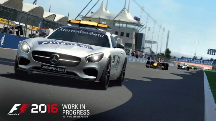 O Safety Car em F1 2016