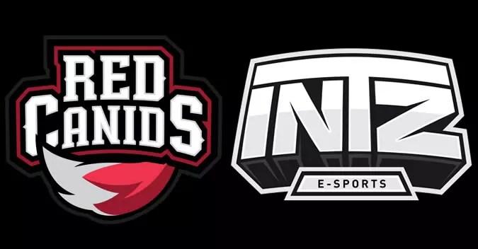Red Canids contra INTZ regional de SMITE