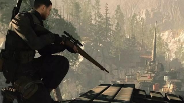 Atirador de Sniper Elite 4