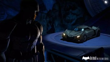 BATMAN - The Telltale Series batmóvel