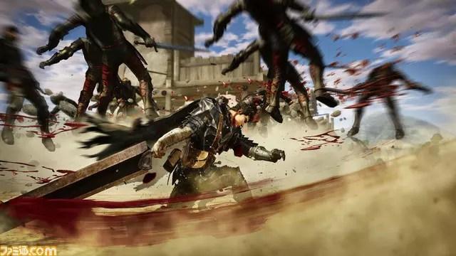 Imagens do jogo de Berserk 2016