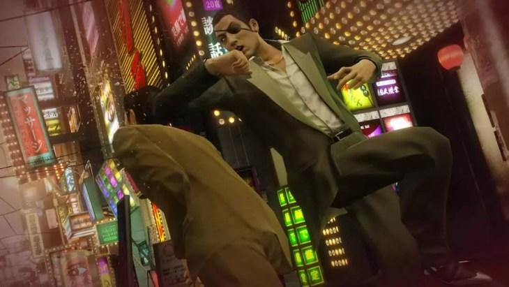 Brigas em Yakuza 0