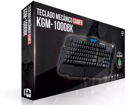 Novos teclados para jogos da C3 Tech 2016