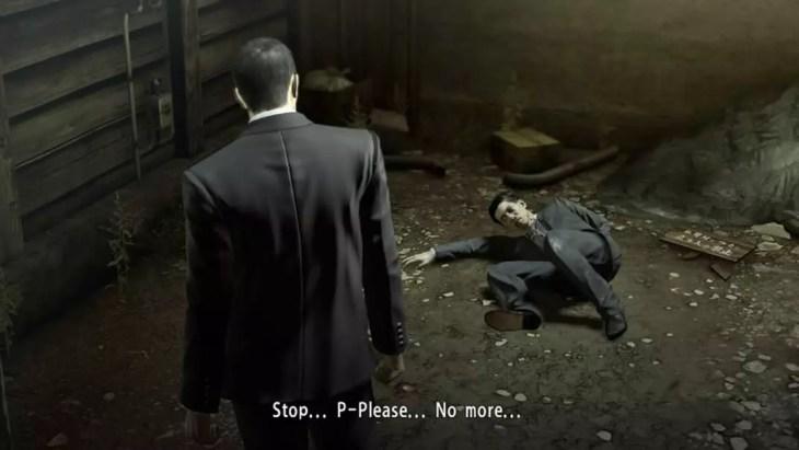 Yakuza 0 em inglês