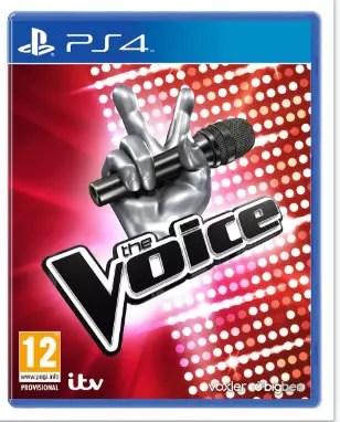 capa do jogo do The Voice