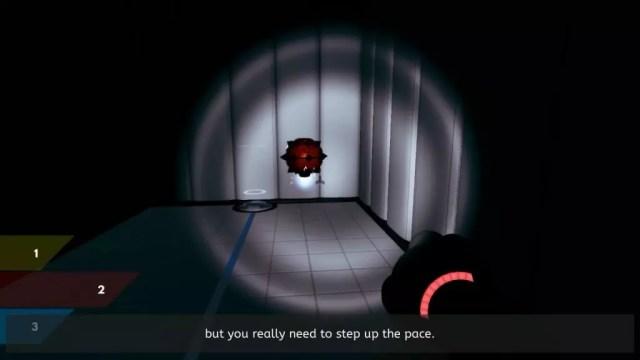 Gameplay do jogo ChromaGun
