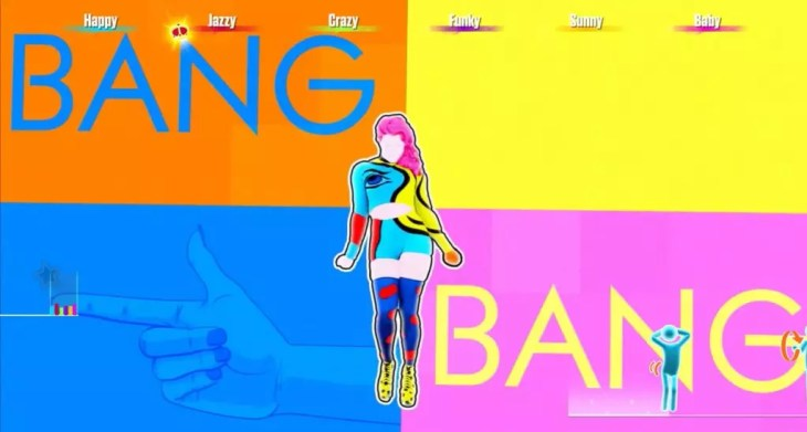 "Coreografia da música ""Bang"" em Just Dance 2017"