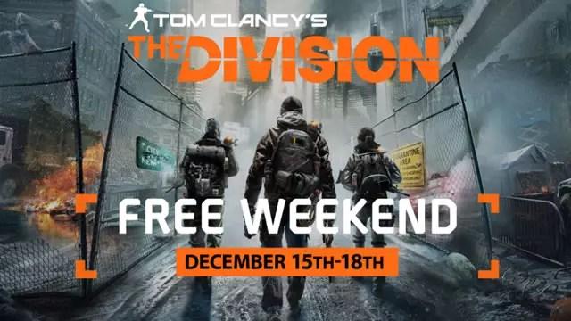 Fim de semana gratuito no The Division