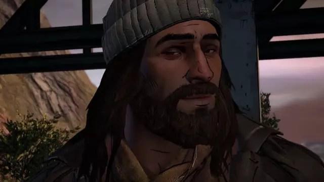 Jesus no jogo de The Walking Dead da Telltale
