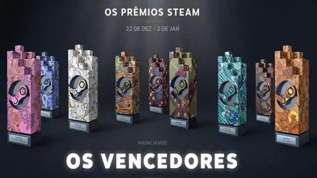 Os prêmios Steam dezembro de 2016
