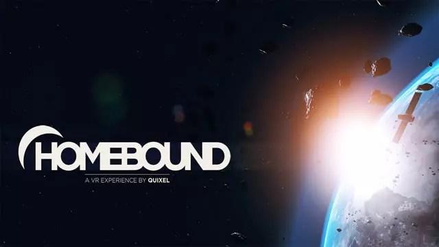 Homebound jogo espacial para realidade virtual