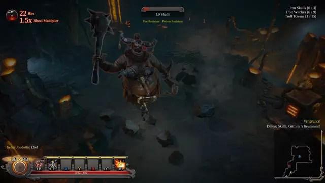 Imagem do jogo Vikings Wolves of Midgard