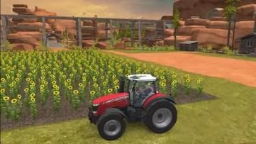 Farming Simulator 18 girassóis