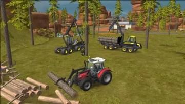 Farming Simulator 18 máquinas em ação