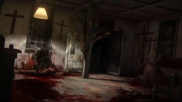 Outlast 2 imagem da demo do jogo