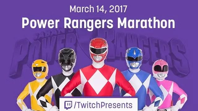 Power Ranger no Twitch