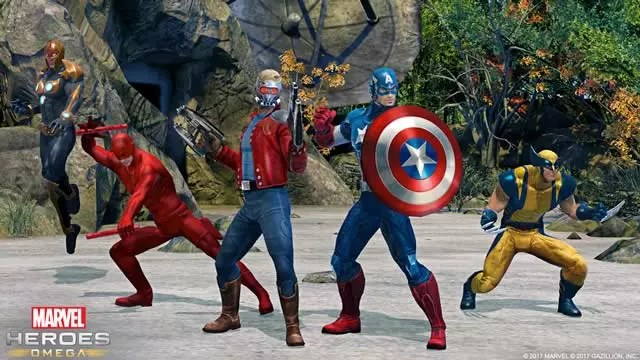 Marvel Heroes Omega 2017 trailer