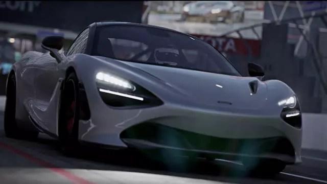 McLaren 720s Project CARS 2