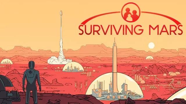 Surviving Mars jogo no planeta Marte