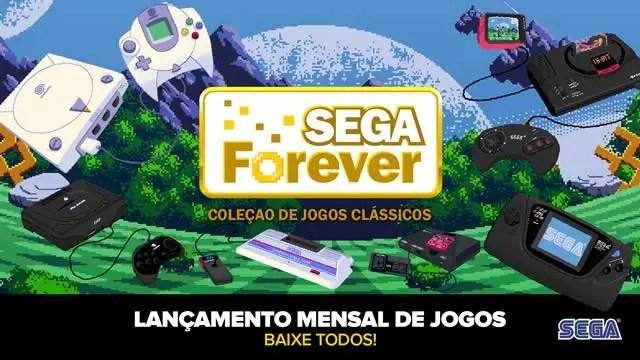 SEGA Forever jogos da SEGA para mobile gratuitamente