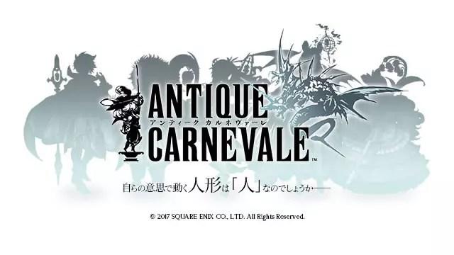 Antique Carnevale é anunciado