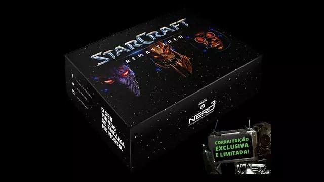 Caixa de colecionador StarCraft Remastered