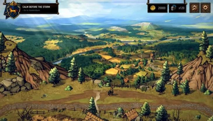 Gwent Thronebreaker Gameplay