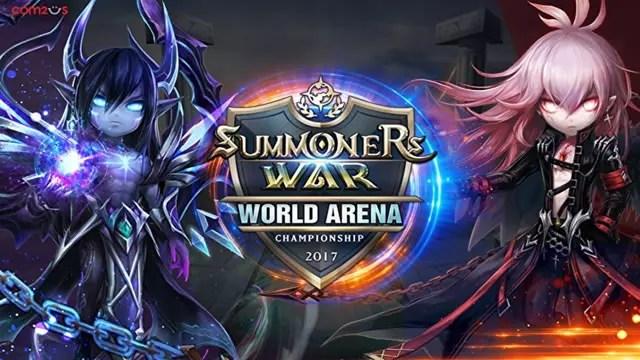 Foram definidos os 16 finalistas da Arena Mundial de Summoners War