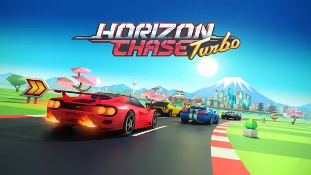 Horizon Chase Turbo capa do jogo