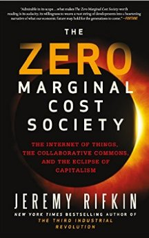 Zero margin cost society - Cover Image and web link