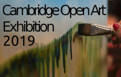 Cambridge Open Art 2019 diary date!