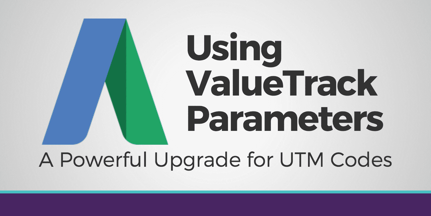 adwords valuetrack parameters