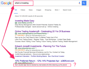 google-what-is-investing
