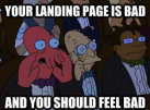 Zoidberg-Landing-Pages